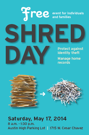 Free drop off events for Document shredding drop off sites